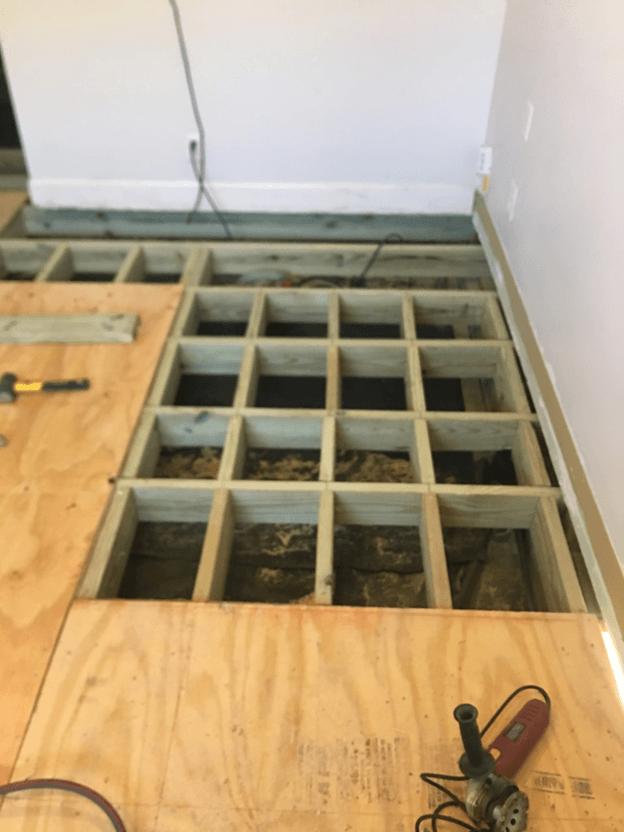 Subfloor Framing Texas Best Flooring Company
